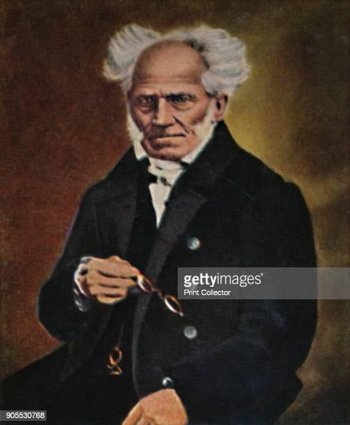 'Arthur Schopenhauer 17881860' 1934 Arthur Schopenhauer German philosopher From Die Großen der Weltgelchichte [EckteinHalpaus Dresden 1934] Artist...