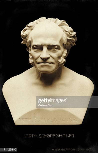 Arthur Schopenhauer bust German Philosopher 17881860