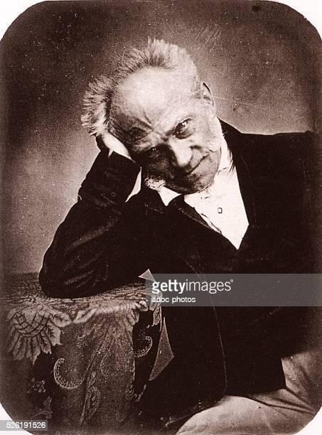 Arthur Schopenhauer German philisopher born in Dantzig In September 1852 After a daguerreotype