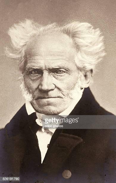 Arthur Schopenhauer German philisopher Ca 1860