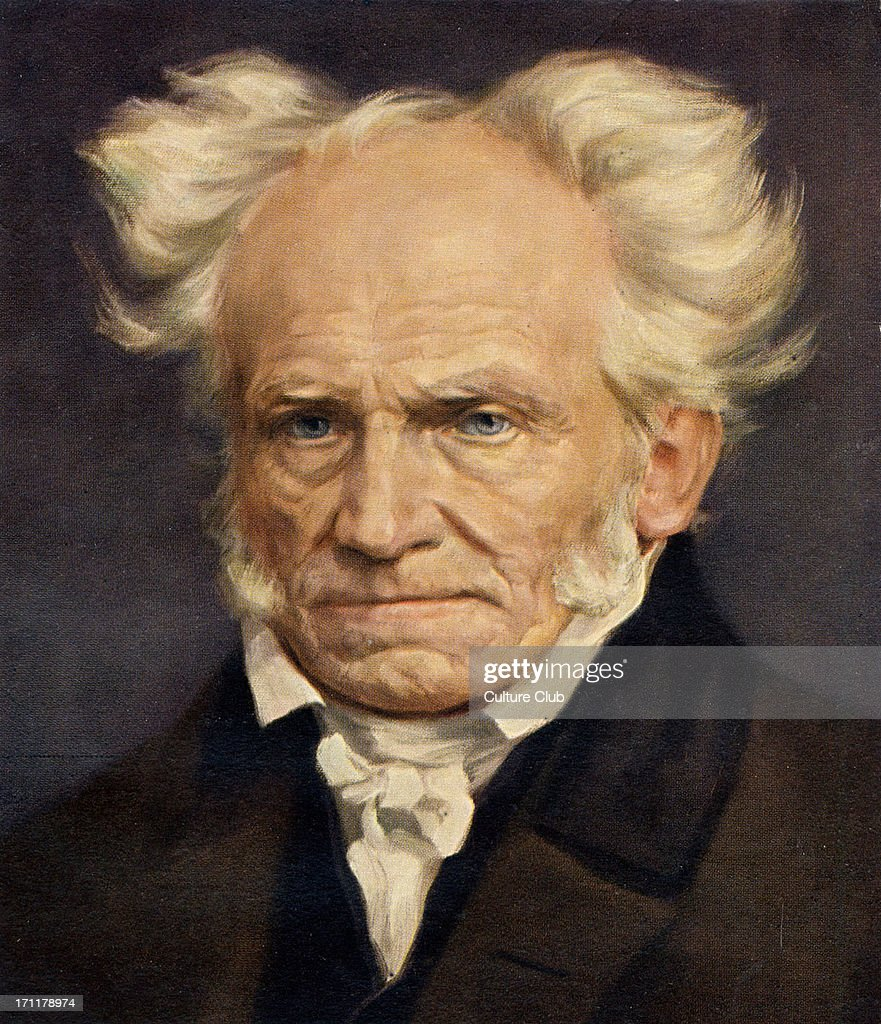 Arthur SCHOPENHAUER - German philosopher, : News Photo