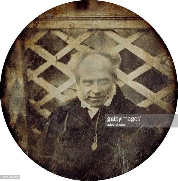Arthur Schopenhauer German philosopher Daguerreotype made in December 1842