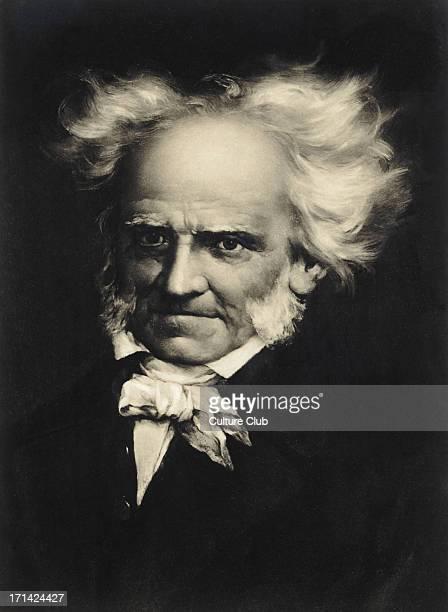 Arthur Schopenhauer portrait German Philosopher 17881860