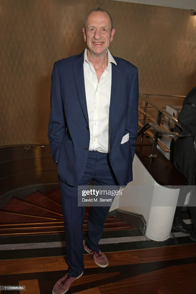 Arthur Smith attends The Critics' Circle Theatre Awards 2019
