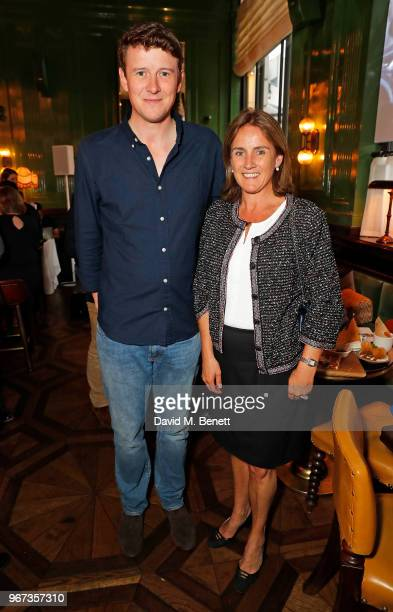 Arthur Soames and Jennie Churchill attend a charity auction held at The Wigmore in partnership with the Royal British Legion to celebrate the release...