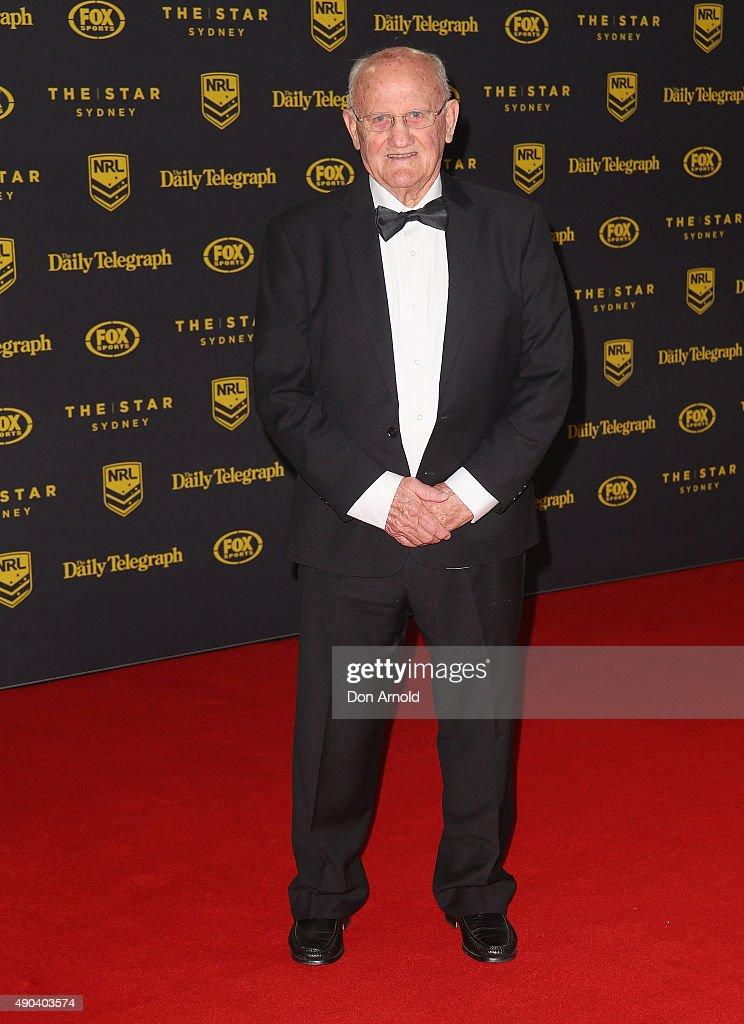 Arthur Summons arrives at the 2015 Dally M Awards at Star City on September 28, 2015 in Sydney, Australia.
