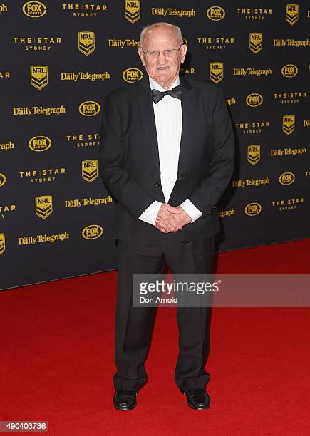 Arthur Summons arrives at the 2015 Dally M Awards at Star City on September 28, 2015 in Sydney, Australia.