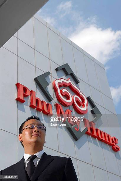 Arthur Ting chairman of Central Trading and Development Corp poses for a portrait ouside the company's office in Ho Chi Minh City Vietnam on Tuesday...