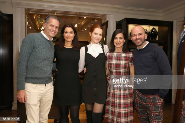 Arthur Wayne Bellamy Young Darby Stanchfield Perrey Reeves and Fisher Pence attend the Brooks Brothers holiday celebration with St Jude Children's...