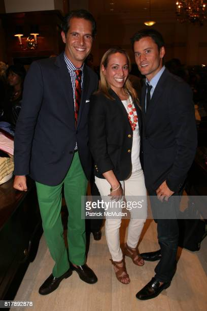Arthur Wayne Dana Schiller and Ted Stafford attend The launch of 'True Prep' at Brooks Brothers on September 14 2010 in New York
