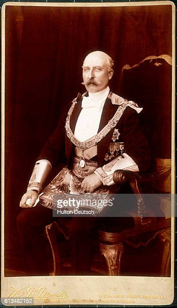 Arthur William Patrick Albert Duke of Connaught son of Queen Victoria and member of the Freemasons