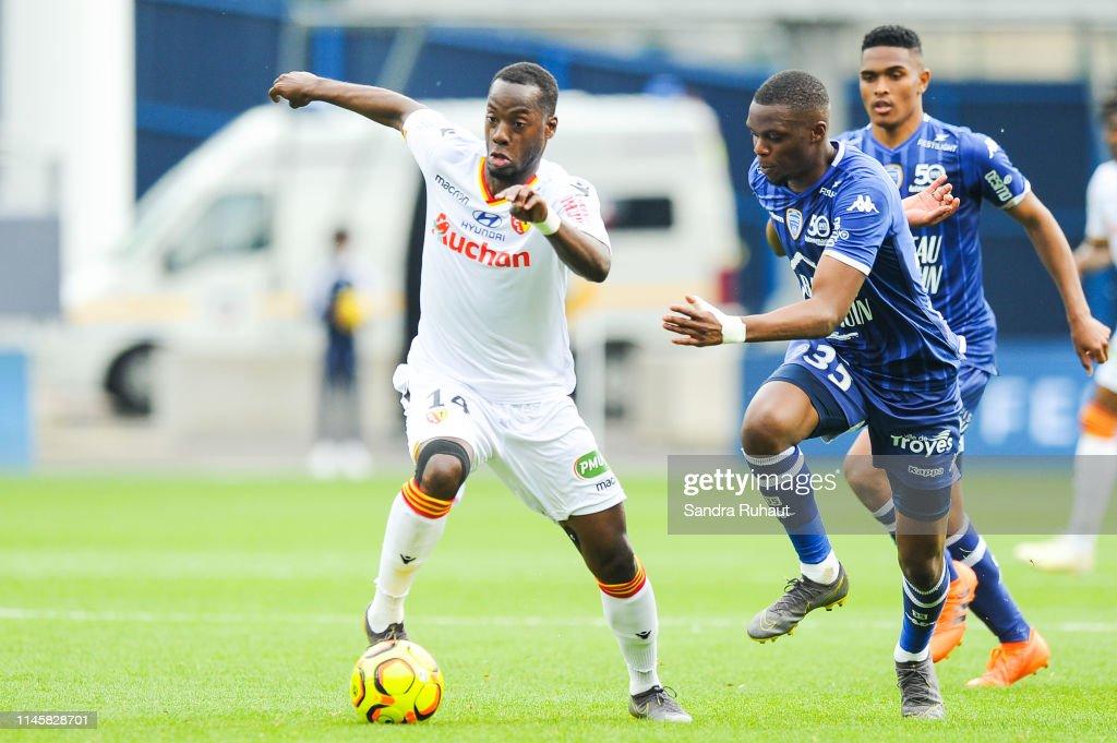 FRA: Esperance sportive Troyes Aube Champagne v Racing Club de Lens - Ligue 2