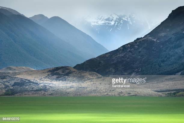 arthurs pass 17 - new zealand - südinsel von neuseeland stock-fotos und bilder