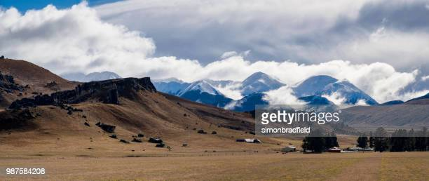 arthur's pass national park, new zealand - foothills stock pictures, royalty-free photos & images