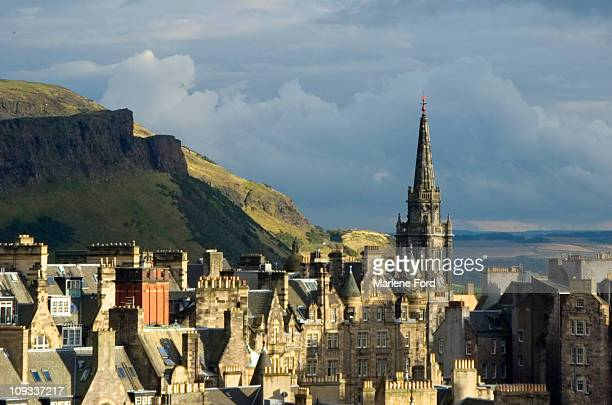 Arthurs Seat and Edinburgh