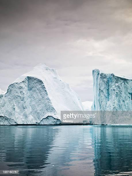 Artic North Pole Icebergs Ilulissat Greenland Fjord
