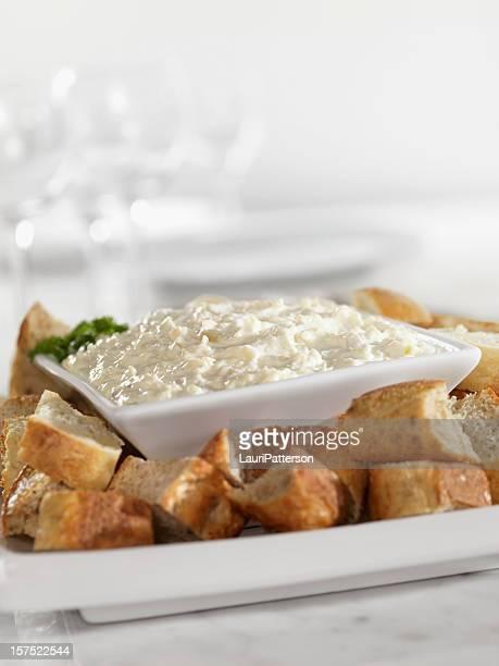 Artichokeand Asiago Cheese Dip