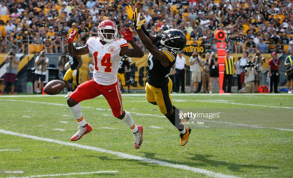 Kansas City Chiefs v Pittsburgh Steelers : Fotografia de notícias