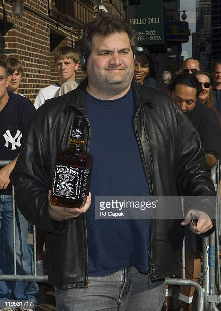 Artie Lang during John McEnroe and Artie Lang Visit the Late Show with David Letterman August 24 2006 at Ed Sullivan Theatre in New York City New...