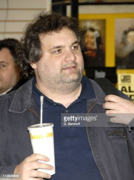 Artie Lange during Artie Lange Celebrates the Release of Beer League DVD with Autograph Signing at JR Music January 9 2007 at J R Music in New York...