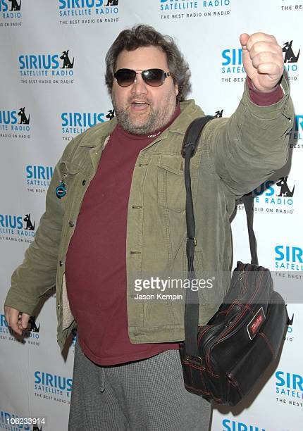 Artie Lange during Jamie Foxx Launches The Foxxhole Channel January 23 2007 at Sirius Satellite Radio Station in New York City New York United States