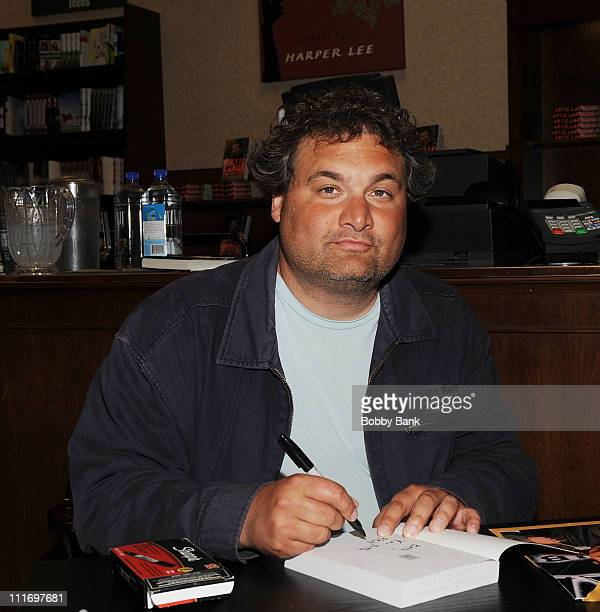 Artie Lange promotes the paperback edition of Too Fat to Fish at Barnes Noble Market Fair on June 2 2009 in Princeton New Jersey