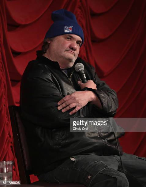 Artie Lange takes part in SiriusXM host Ron Bennington's annual Thanksgiving Special at Hard Rock Cafe Times Square on November 14 2017 in New York...