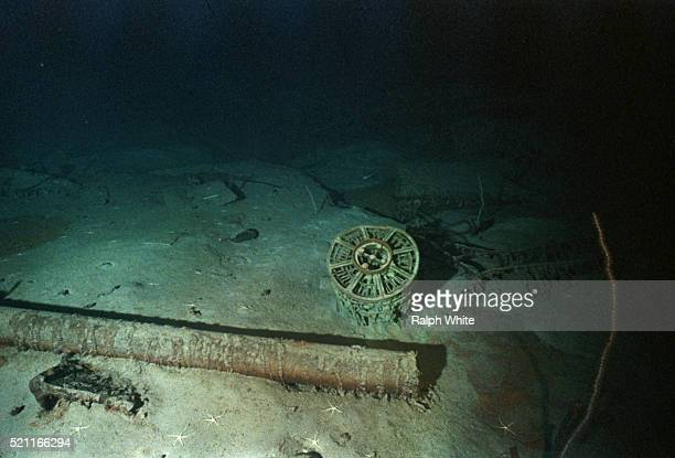 artifacts resting near titanic - titanic stock pictures, royalty-free photos & images