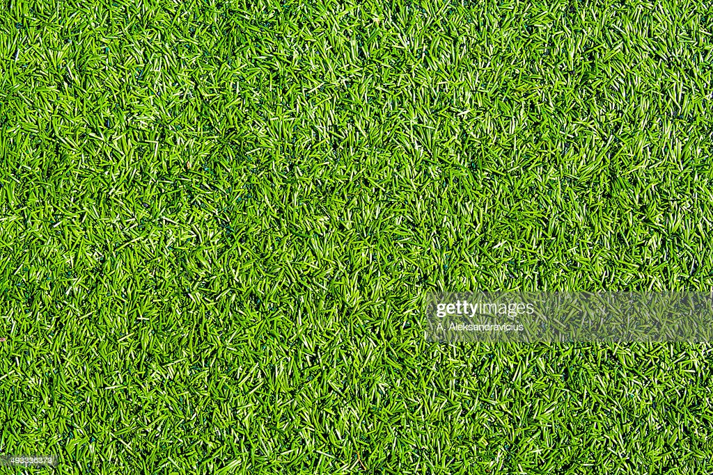 Grass Field Texture In Artificial Grass Field Top View Texture Stock Photo Getty Images