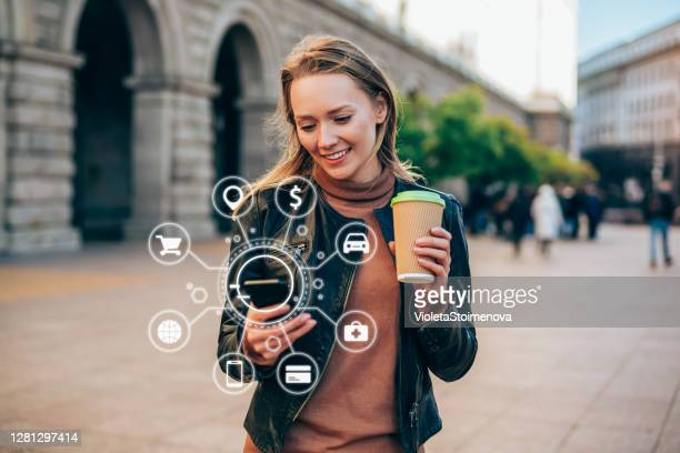 artificial intelligence and communication network concept. - smart stock pictures, royalty-free photos & images