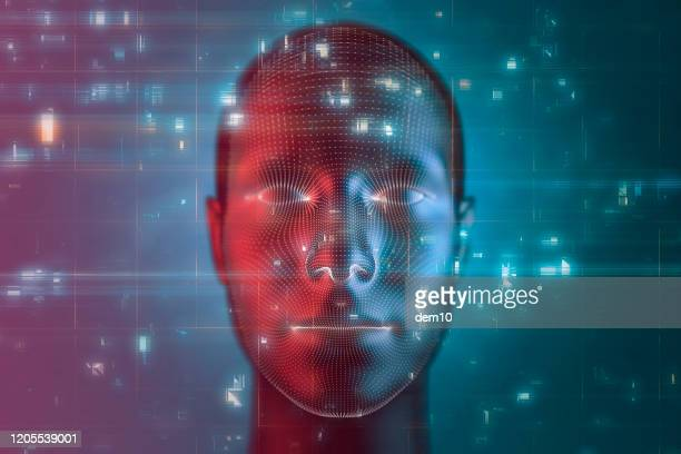 artificial intelligence and technology - celebrity fake photos stock pictures, royalty-free photos & images