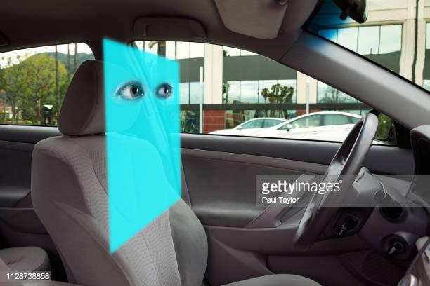 artificial intelligence automobile - avatar foto e immagini stock
