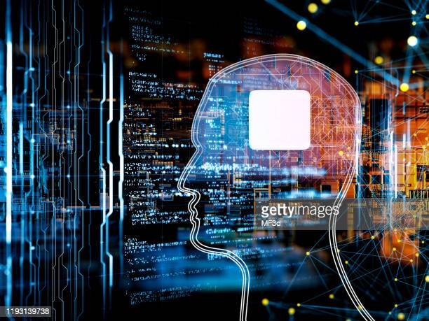 artificial intelligence concept - neuroscience stock pictures, royalty-free photos & images