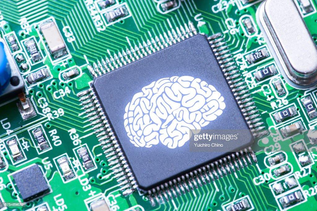Artificial intelligence concept : ストックフォト