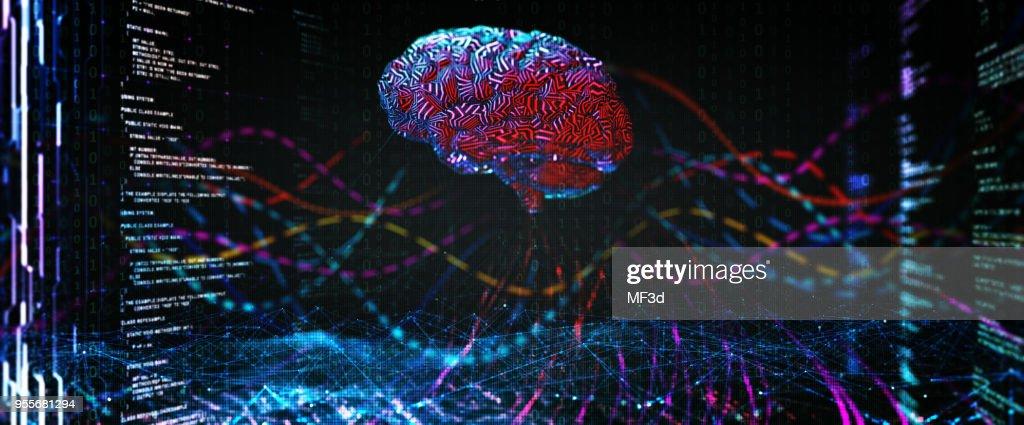 concept de l'Intelligence artificielle : Photo