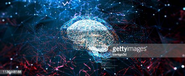 artificial intelligence digital concept - artificial intelligence stock pictures, royalty-free photos & images