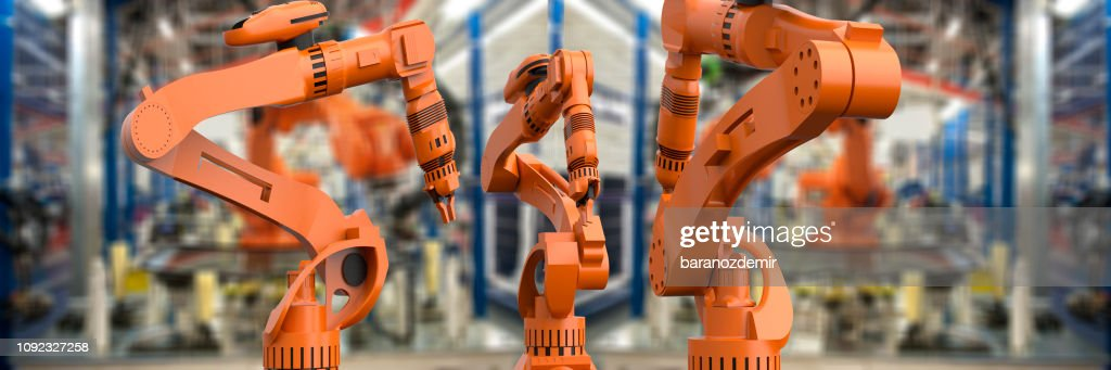 Artificial Intelligence Industry : Stock Photo
