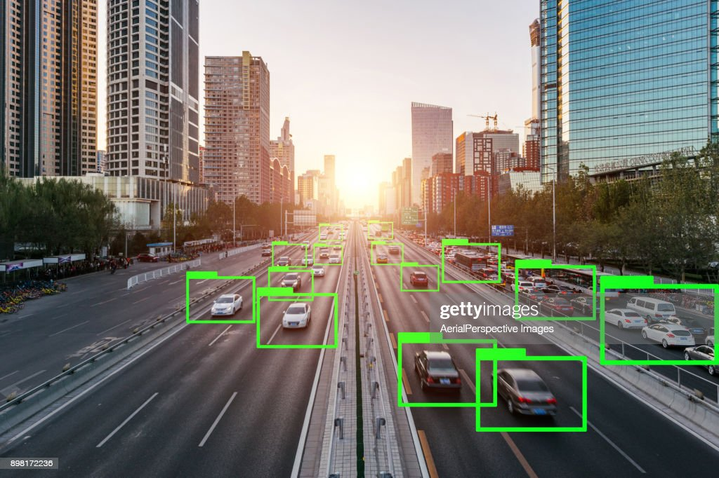 Artificial Intelligence of Deep Learning : Stock Photo