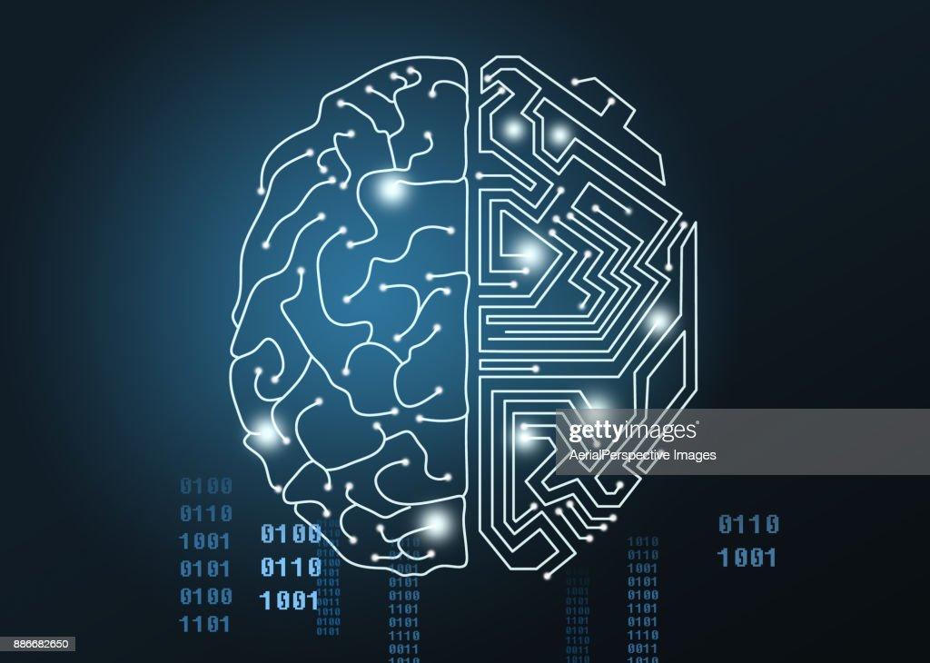 Artificial Intelligence : Foto de stock