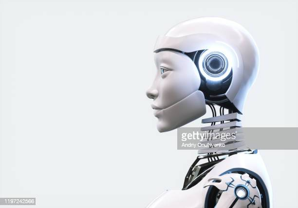 artificial intelligence robot - robot stock pictures, royalty-free photos & images