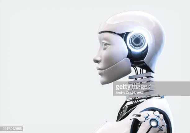 artificial intelligence robot - robô - fotografias e filmes do acervo