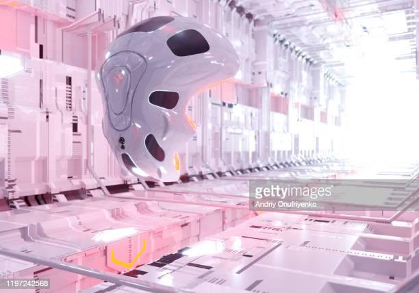 artificial intelligence robot - 宇宙の乗りもの ストックフォトと画像