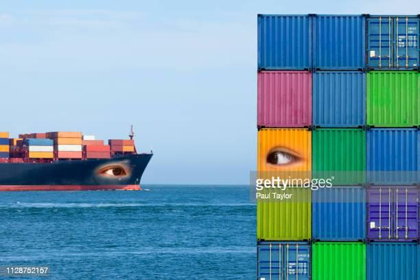 artificial intelligence shipping - avatar foto e immagini stock