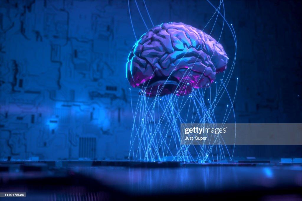 Artificial Intelligence Technology : Stock Photo