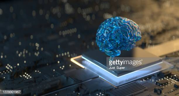 artificial intelligence technology - artificial intelligence stock pictures, royalty-free photos & images