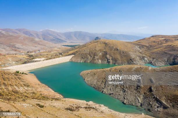 artificial lake - middle east stock pictures, royalty-free photos & images