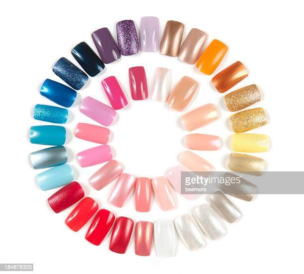 Artificial Nail Display Wheel
