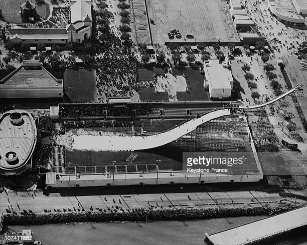 Artificial Ski Track In San Francisco On March 1939