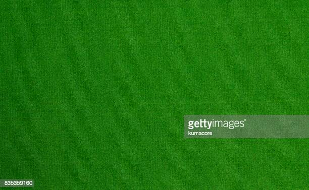 Artificial turf of green