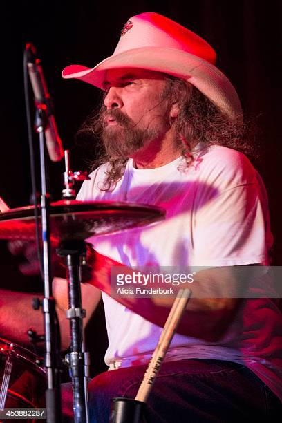 Artimus Pyle of Lynyrd Skynyrd performs during the 12th annual Make-A-Wish benefit concert at The Orange Peel on December 5, 2013 in Asheville, North...